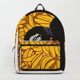 Gorilla Banana Dear animal silverback gift Backpack