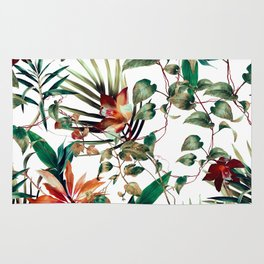 Pattern botanical exotic - 03 Rug