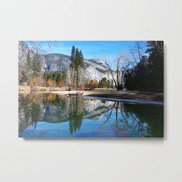 Reflections / Yosemite National Park Metal Print