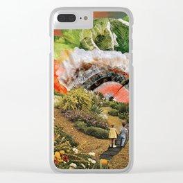 Peridot Paradise Clear iPhone Case
