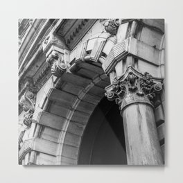 Montreal Architecture Photography Metal Print