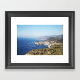 Beautiful Big Sur Framed Art Print