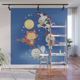 hey diddle diddle Wall Mural