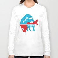 politics Long Sleeve T-shirts featuring Politics by Mike Stark