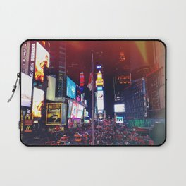 Times Square Lights Laptop Sleeve