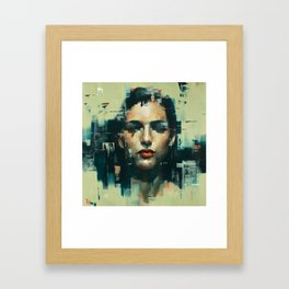 Facing Obstructions 6 Framed Art Print