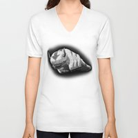 aang V-neck T-shirts featuring Bison by Creadoorm