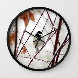 Chicka Chickadee Wall Clock