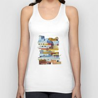 team fortress Tank Tops featuring the fortress by Chicca Besso
