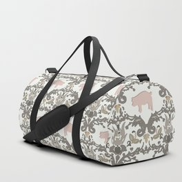 pig damask Duffle Bag