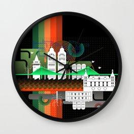 Istanbul aka Constantinopolis Wall Clock