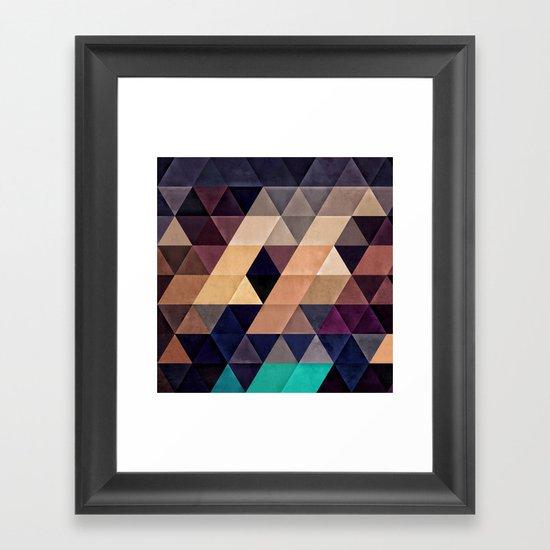BAYZH Framed Art Print