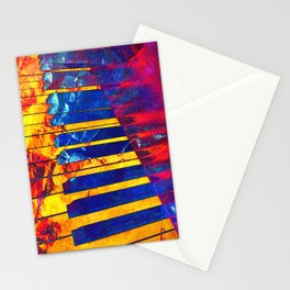 Piano Art Stationery Cards