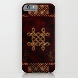 Celtic knote, vintage design iPhone Case