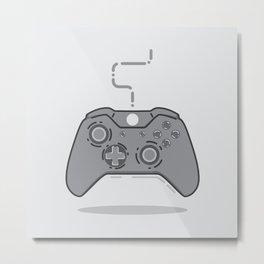 xbox controller Metal Print