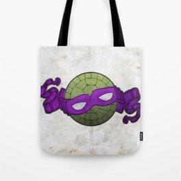 the purple turtle Tote Bag