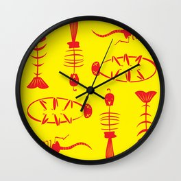 Cat Treats 03 Wall Clock