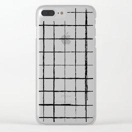 Chicken Scratch #619 Clear iPhone Case