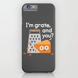 Existential Shred iPhone Case