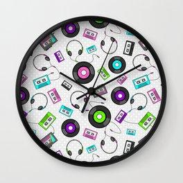 Antiquated Audio  Wall Clock