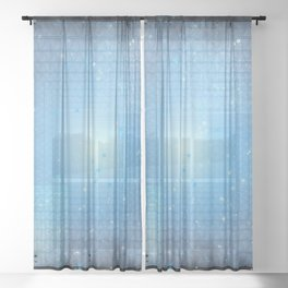 What Lies Within Sheer Curtain