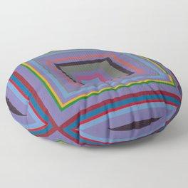 """""""The Grape Shape""""   Op art Floor Pillow"""