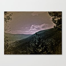 Window Into Canvas Print