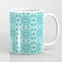 teal Mugs featuring Teal by lillianhibiscus