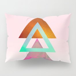 Triangles, 1 Pillow Sham