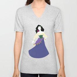 Esmeralda from The Hunchback of Notre-Dame Unisex V-Neck