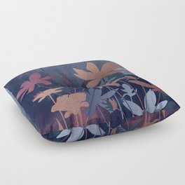 Night Garden Floor Pillow