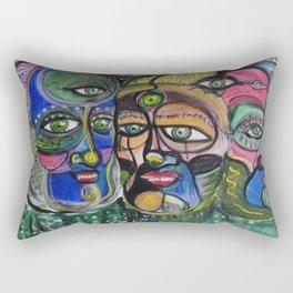 3 rois Rectangular Pillow