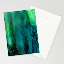 Drifting Underwater Stationery Cards