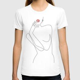 Feminine Minimalism T-shirt