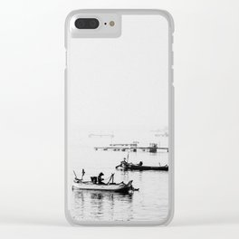 Fishermens Clear iPhone Case