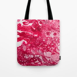 Fluid Expressions - Red Tote Bag