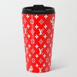 supreme LV wallpaper Travel Mug