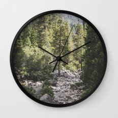 Yosemite Park, California Wall Clock