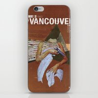 vancouver iPhone & iPod Skins featuring Locals Only - Vancouver by Matthew Billington