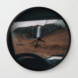 Iceland Waterfall Wall Clock
