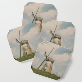 A mill in rural The Netherlands Coaster