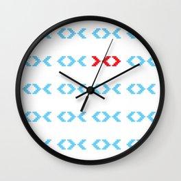 Odd Fish Wall Clock