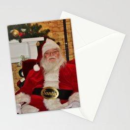 Man In Red Suit Stationery Cards