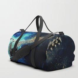 Electric Blue Guitar Duffle Bag