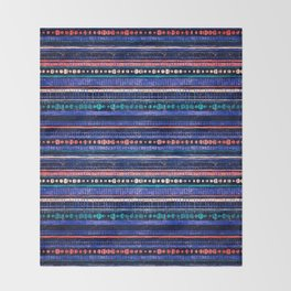 rhythm 1.1 Throw Blanket