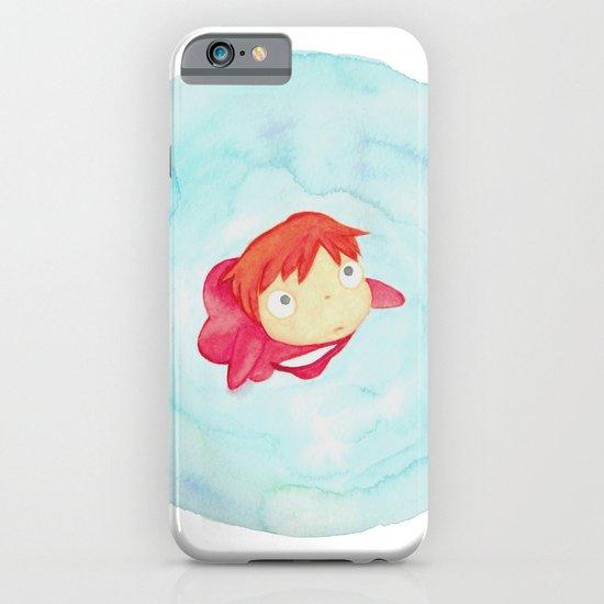 Ponyo Watercolor iPhone & iPod Case