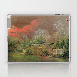 English Garden Sunset Laptop & iPad Skin