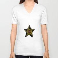nautical V-neck T-shirts featuring Nautical  by Papa-Paparazzi
