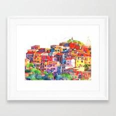 Cinque Terre vol2 Framed Art Print