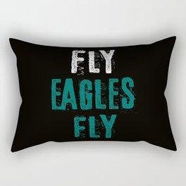 Fly Eagles Fly Rectangular Pillow